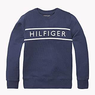 TOMMY HILFIGER Boys' 3D Embroidery Logo Sweatshirt
