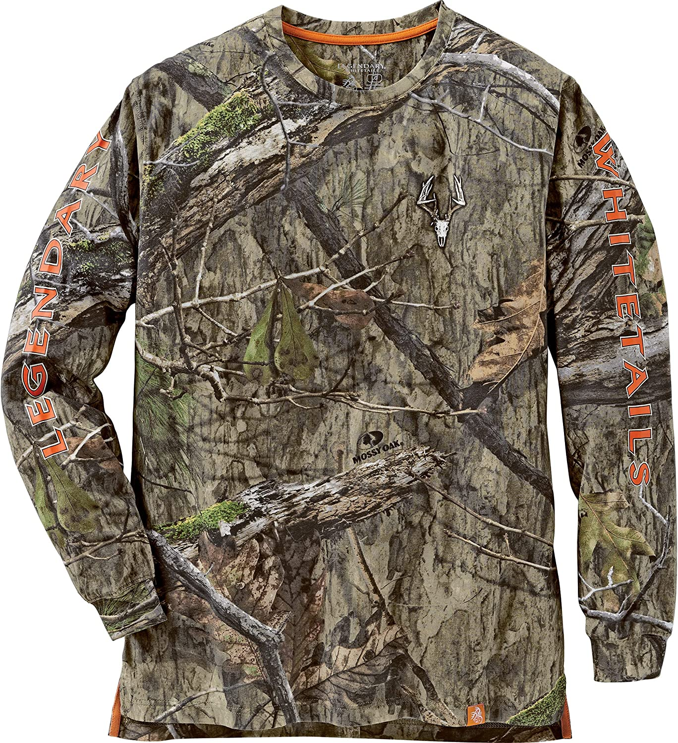 Legendary Whitetails Men's Non-Typical NEW before selling Long T-Shirt Mossy Sleeve NEW before selling ☆