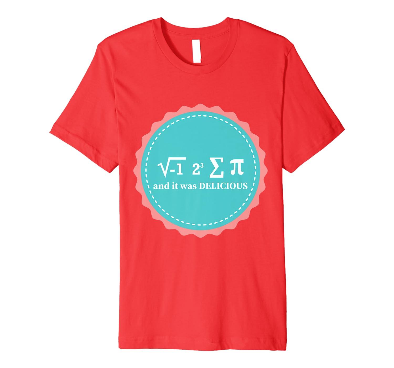 Pi Day Pizza Math Equation Gift Premium T-Shirt