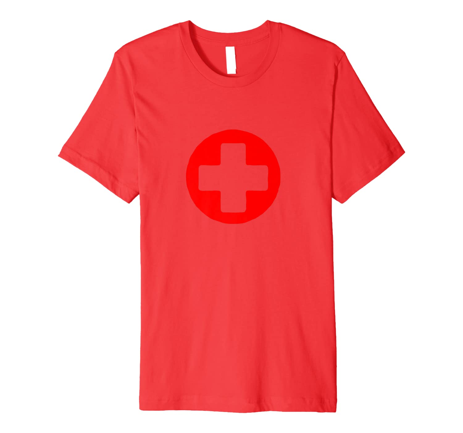 Cross Red Guard Life Nurses Lifeguards T-Shirt Deluxe-ANZ