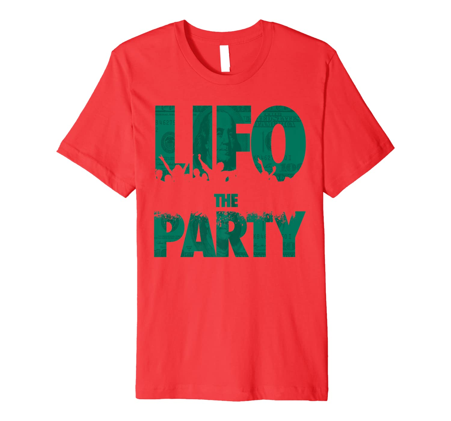 LIFO The Party Funny CPA Accountant Inventory Tax Bookkeeper Premium T-Shirt