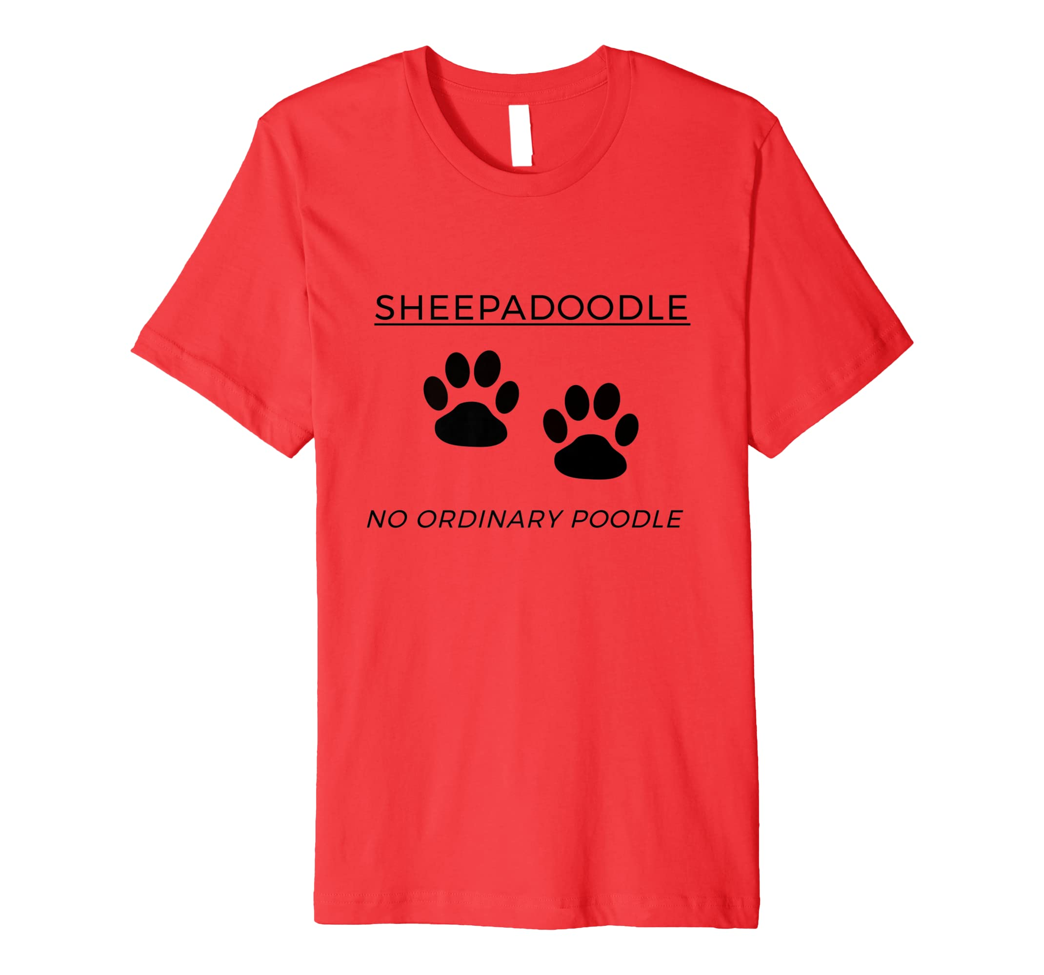 Amazon com: SHEEPADOODLE NO ORDINARY POODLE: Clothing