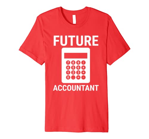 Future Accountant Accounting Kids Children Student Premium T-Shirt