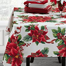 Benson Mills BATANICAL PLAID Tablecloth, 60x120, Multi