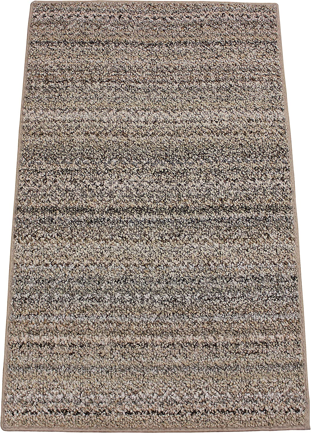 Boho Striped Beige Area Rugs Made 100% 価格 交渉 送料無料 Ca Polyester Recycled for 最新号掲載アイテム