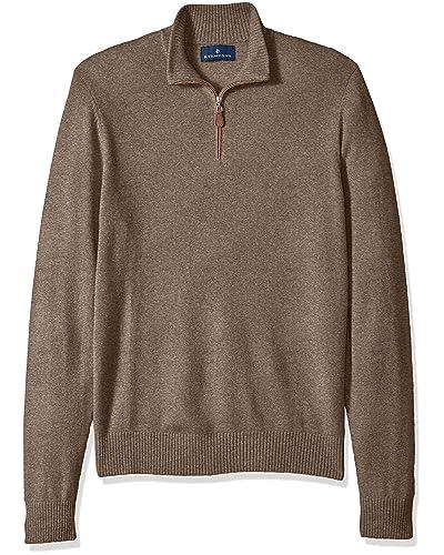 71326761ba0 Men's Quarter Zip Sweaters: Amazon.com