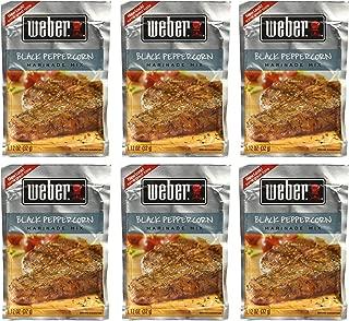 Weber Black Peppercorn Marinade 1.12 oz (Pack of 6)