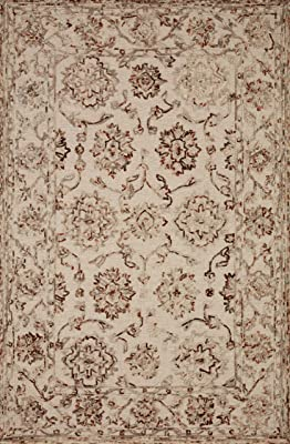 Superior Designer Bristol Ivory Light Blue Area Rug 8 X 10 Furniture Decor