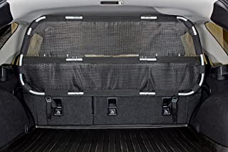Bushwhacker - Paws n Claws Cargo Area Dog Barrier for CUV and Mid-Sized SUV - Hatchback Pet Divider Crossover Vehicle Car Net Mesh Travel Back Seat Safety Partition Universal Gate Restraint Fence Trunk