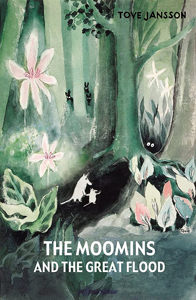 ジャンプもっと少なく茎The Moomins and the Great Flood (English Edition)