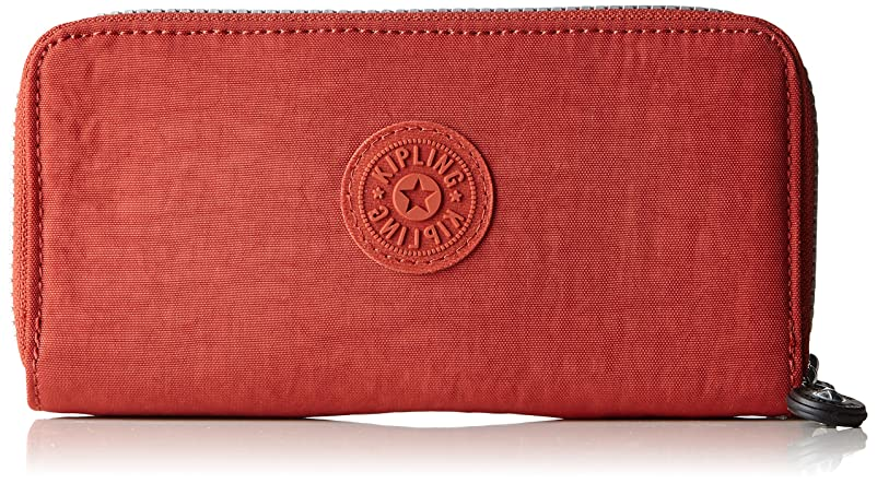 ファイナンス野望シーボード(Red Rust) - Kipling Women's Uzario Wallet
