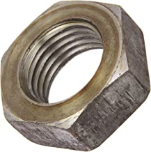 Steel Hex Jam Nut, Plain Finish, Grade 2, ASME B18.2.2, 9/16