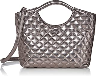 GUESS Miriam Pewter Small Shopper