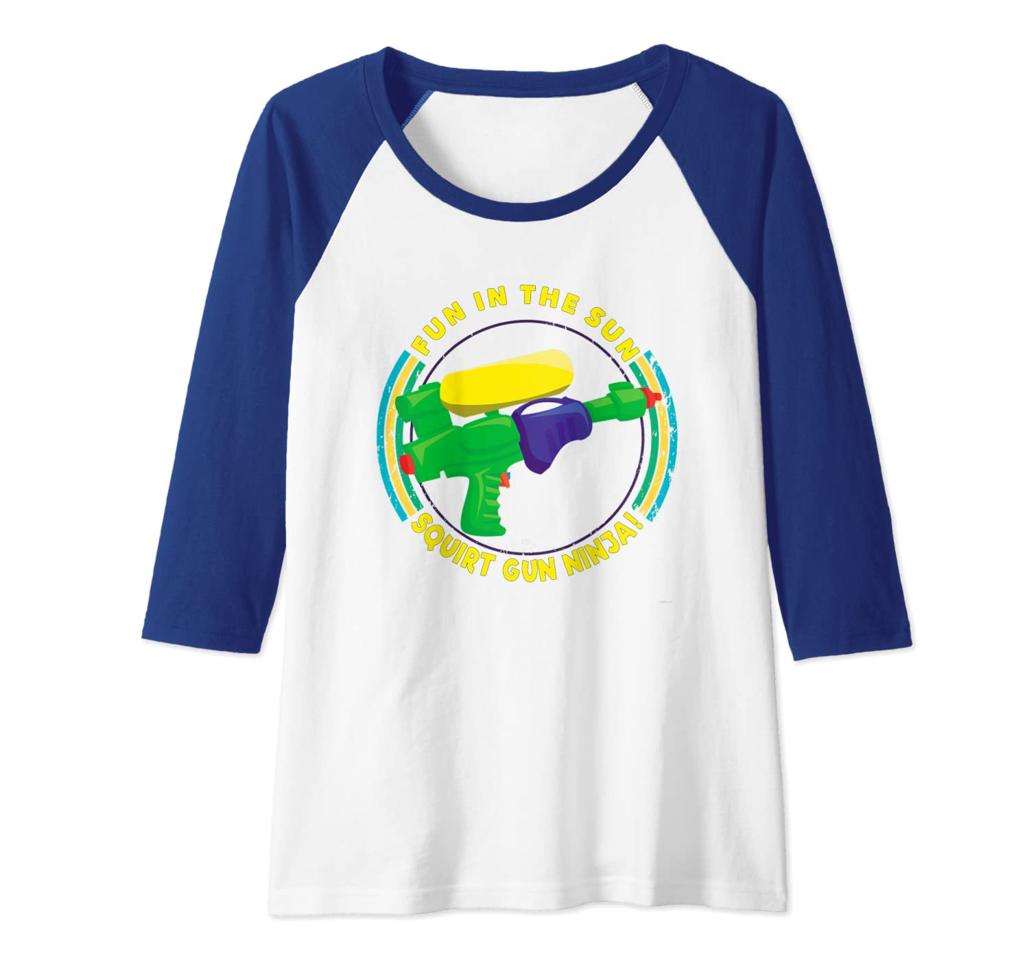 Amazon.com: Fun in the Sun Squirt Gun Ninja by ASJ Raglan ...