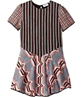 Patchwork Dress (Toddler/Little Kids)