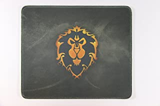 WOW 12x10 Inch World of Warcraft Alliance Flag Badge Large Mouse Pad Mouse mat Waterproof Nonskid