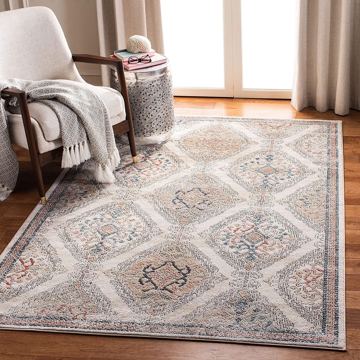 Safavieh Oregon trend rank Collection ORE885F Oriental Distressed Over item handling ☆ Non-Shedd