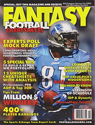 Amazon com: Fantasy Football Cheat Sheet: Books