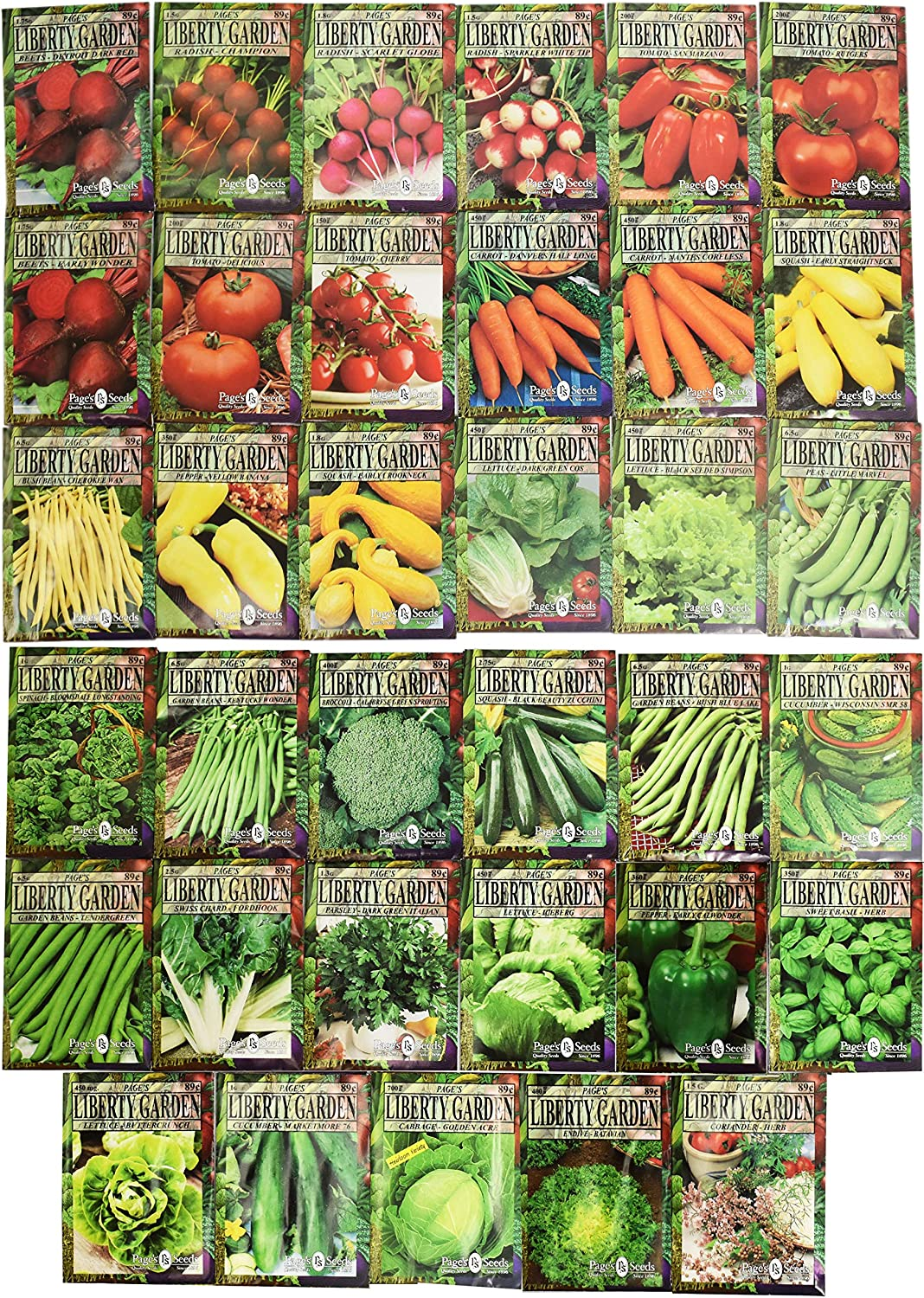 Set of 35 Premium Variety Herbs C - Challenge the lowest price Japan ☆ Deluxe Award-winning store Garden Vegetables and
