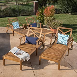 Best outdoor wood chaise Reviews
