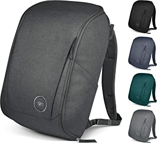 Simple Modern Wanderer Backpack with Laptop Sleeve - 25L Travel Bag for Men & Women College Work School - Graphite
