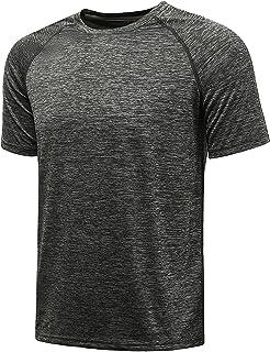 Komprexx Men's Sports Shirt Fitness Functional Training Running Tennis Sportshirt Men's Functional Short-Sleeved Shirt