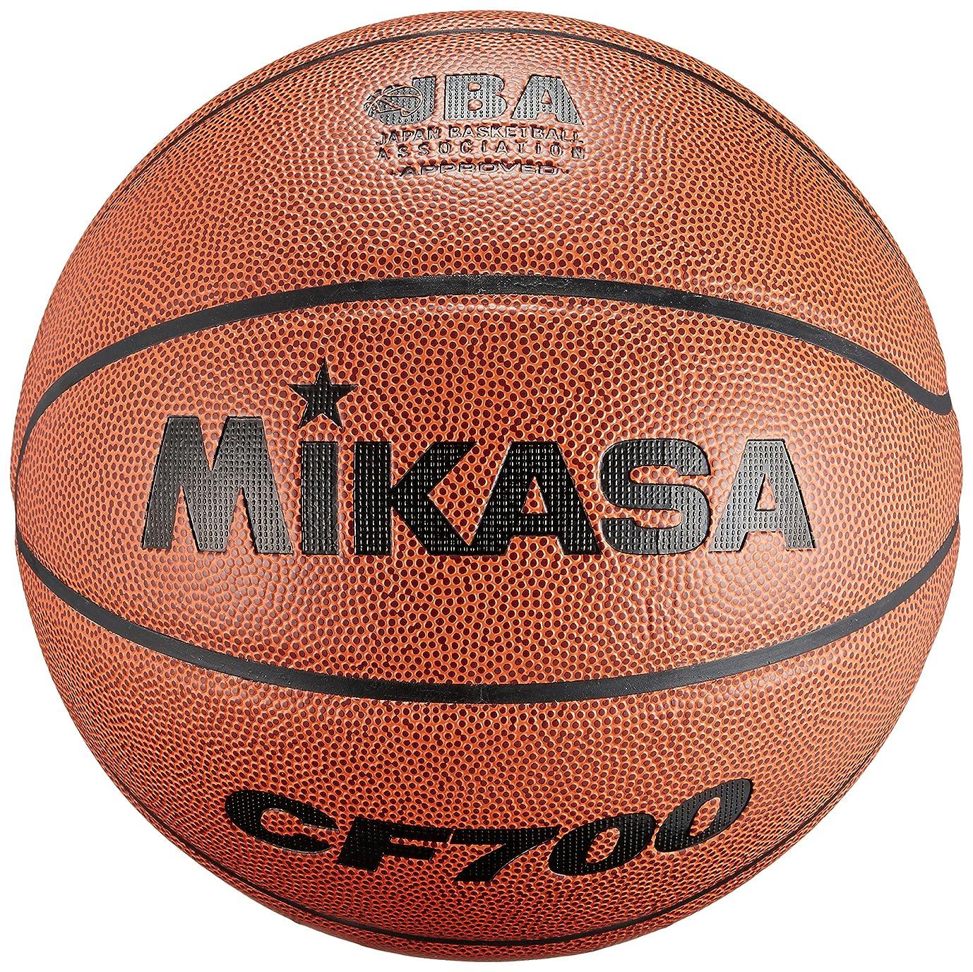 降ろす島むさぼり食うミカサバスケットボール 検定球7号 人工皮革 CF700