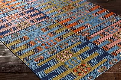 "Artistic Weavers Sajal Lyon Rug, Multicolor/Blue, 2'6"" x 8'"
