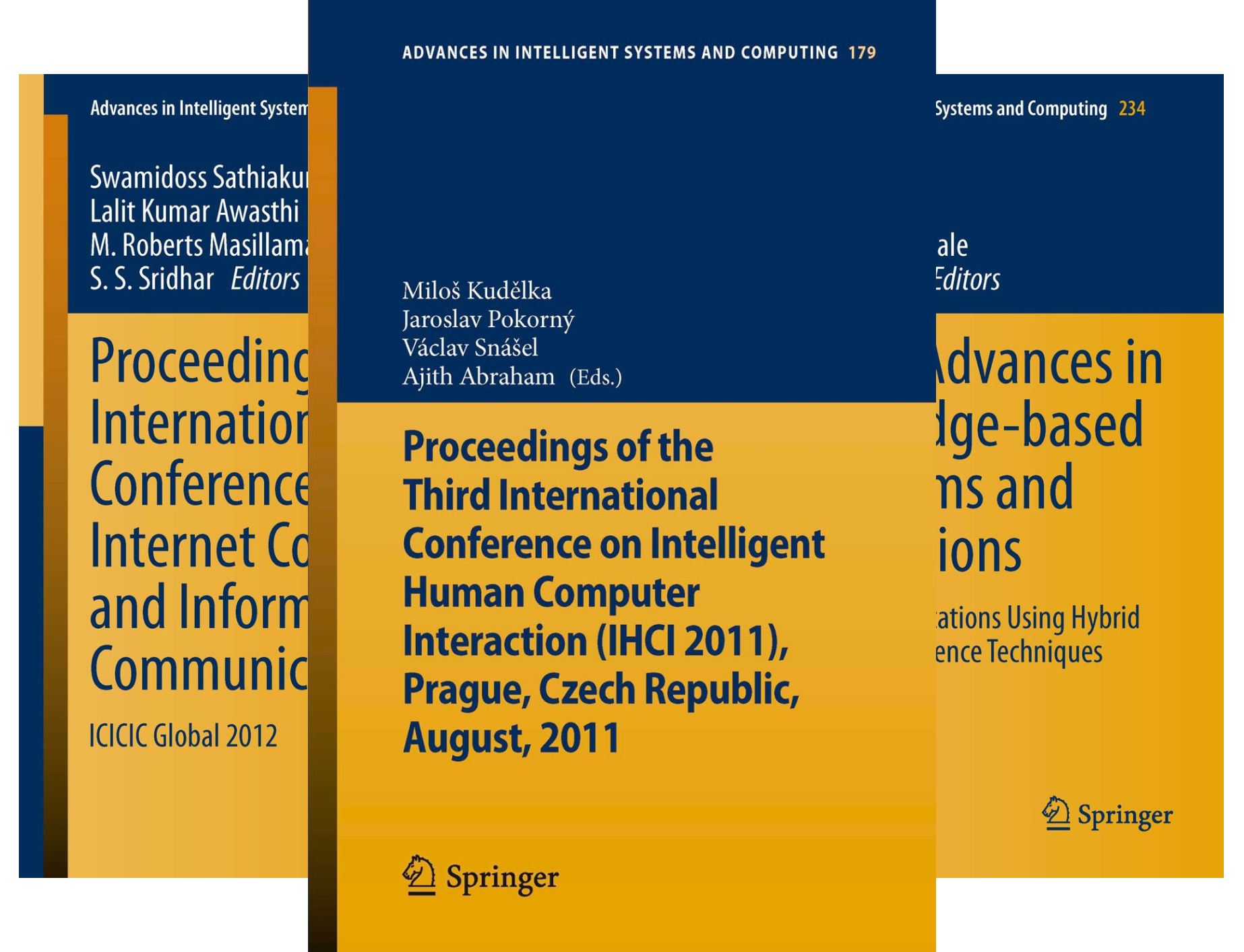 Advances in Intelligent Systems and Computing (50 Book Series)