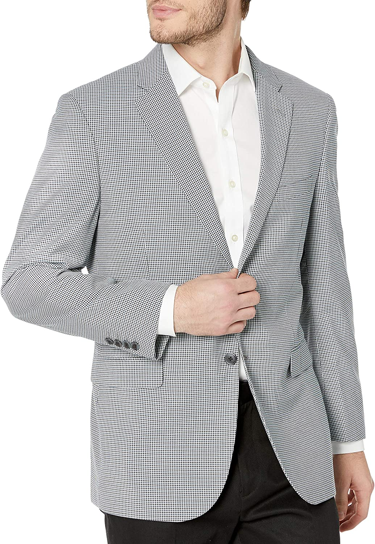Adolfo Men's Modern Fit Sport Coat