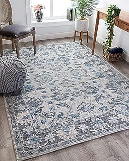 Best grey floral rug Reviews