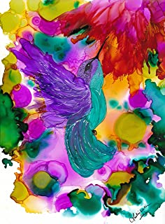 Best abstract alcohol ink art Reviews