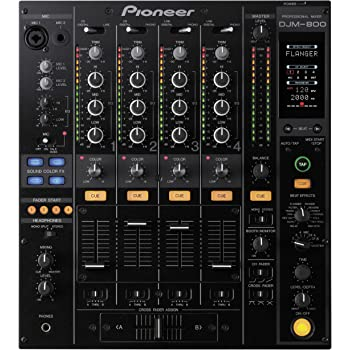 Pioneer DJM-800 - Receptor AV (4.0, 0,005%, 24-bit/96kHz ...