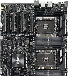 ASUS 华硕 WS C621E SAGE 双路服务器主板 2x插座P/Intel C621/DDR4/ S-ATA 600/ EEB工作站-黑色