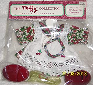 Muffy Vanderbear Patisserie V de B The Cherry Pie Collection - RETIRED