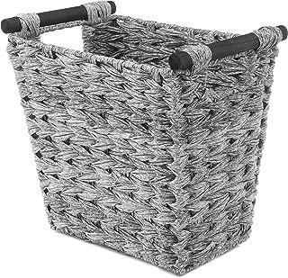 Best gray wicker waste basket Reviews