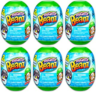 Mighty Beanz Playset Bundle Beanz Toys Set - 6 Pack Mighty Beanz Slam Pack Mystery Toys (Mighty Beanz Toys)