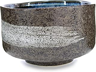 Japanese Handcrafted Matcha Tea Bowl Brown, Matcha Tea Cup Ceremony, Authentic Mino Ware Pottery, Hagoromo Chawan