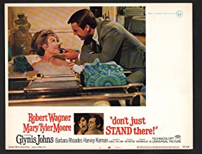 MOVIE POSTER: Don't Just Stand There Lobby Card #1-1968-Robert Wagner and Mary Tyler Moore