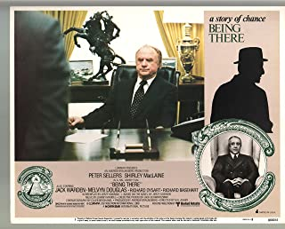 MOVIE POSTER: Being There-Peter Sellers-Jack Warden-Color-Lobby Card-11x14