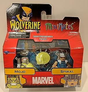 Minimates Marvel Comics Mojo & Spiral X-Men Mojoverse Minifigures