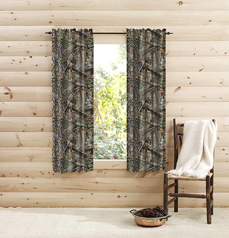 Realtree Edge Window 63 Inches Panel Pair 63 Multicolor