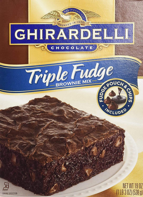 Max 49% OFF Ghirardelli Triple Fudge Brownie Mix Ranking TOP10