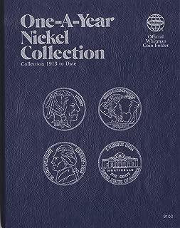 No 9102 1913-DATE 1977 Buffalo & Jefferson Nickel WHITMAN TRI-FOLD ALBUM #16/348