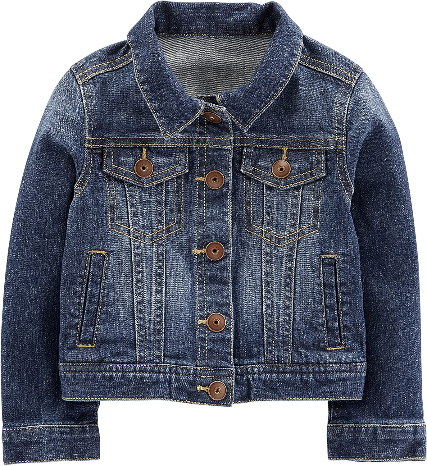 Amazon Com Simple Joys By Carter S Baby And Toddler Girls Denim Jacket Clothing