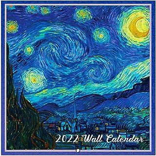 "2021-2022 Wall Calendar - 18-Month Monthly Wall Calendar, Jan. 2021 - Jun. 2022, 12"" x 24"" (Open), Unruled Blocks with Thi..."