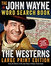 The John Wayne Large Print Word Search Book – The Westerns