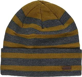 RUNNING BEAN Pig Woolen Hat Men/&Women Winter Beanie Hat Cuffed Plain Skull Knit Hat Cap