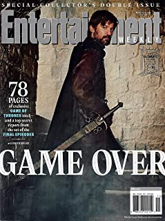 Entertainment WEEKLY Magazine March 15 - 22, 2019 NIKOLAJ COSTER-WALDAU as JAIME LANNISTER Cover, GAME OF THRONES Intel and Top Secret Report