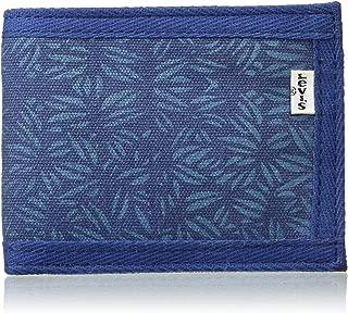 Levi's Printed Canvas Blue Men's Wallet